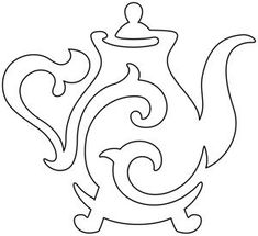 Quilting Teapot | Urban Threads: Unique and Awesome Embroidery Designs