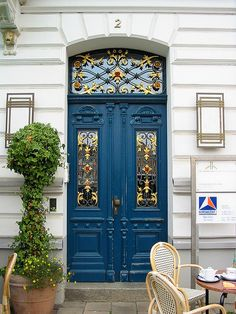 Germany - just another door... !! :) saw so many like this all over euorpe