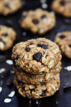 WHOLE WHEAT BANANA COCONUT OATMEAL CHOCOLATE CHUNK COOKIESReally  Mein Blog: Alles rund um Genuss & Geschmack  Kochen Backen Braten Vorspeisen Mains & Desserts!