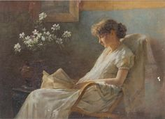 pintura de Charles Courtney Curran