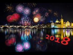 New Year 2018.  Prague