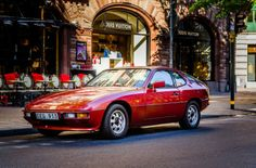 Porsche 924 Coupe Targa 82