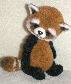 Red Panda Ajumy by Olga Schlegel