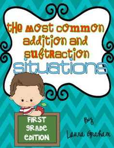 Word Problems for First Grade