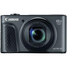 CANON 1791C001 20.3-Megapixel PowerShot(R) SX730 Digital Camera (Black)