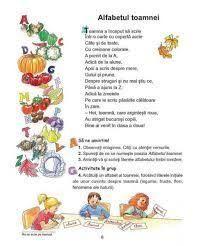 Imagini pentru alfabetul limbii romane pentru copii in versuri