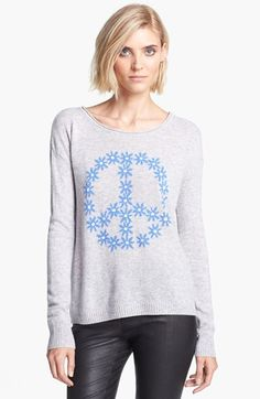 autumn cashmere Peace Symbol Cashmere Sweater available at #Nordstrom