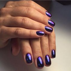 Blue nails ideas, Business nails, Classic nails ideas, Classic short nails…