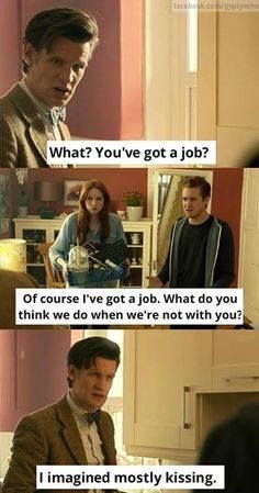 The doctor has the best comebacks
