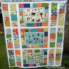PictureBox Quilt Tutorial - perfect for an Eye Spy quilt. I have material to make an Eye Spy, just waiting on the right pattern. Now I have it.