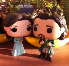 Eliza & Alexander Hamilton Funko Pop Vinyl figures. I WANT THESE!
