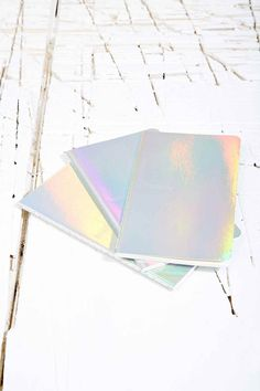 Fashionary Notebooks in Silver - Urban Outfitters