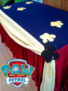 Paw patrol table decor by inspired kids barbados