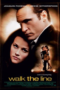 WALK THE LINE - If you are a Johnny Cash fan this is well worth watching!