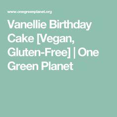 Vanellie Birthday Cake [Vegan, Gluten-Free] | One Green Planet