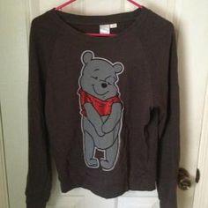 Forever 21 - Disney Poo Bear Knit Sweater Size Medium