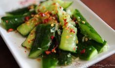 Asian Recipes, Ethnic Recipes, Oriental Food, Yummy Mummy, Seaweed Salad, Wok, Pickles, Green Beans, Cucumber