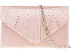 fi9® , Damen Clutch Mehrfarbig Dusky Pink