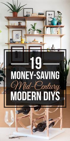 19 Mid-Century Modern DIYs That Will Save You Tons Of Money