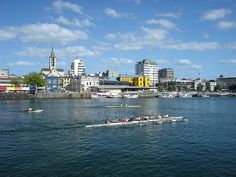 Valdivia by wuerschi, via Flickr Countries To Visit, South America, New York Skyline, Vacation, Country, Beautiful, Traveling, Cities, Photos