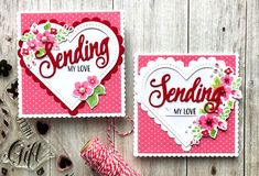 Hello! I hope you're having a relaxing weekend. I'm popping in today to share a fewValentine cards I made the other day using some P...