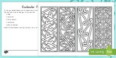 Create your own bookmark with these kowhaiwhai templates. Be creative and think of different media you can use. A great way to celebrate Matariki and gift your first one to a special person.Tags in this resource: Colouring Pages, Coloring Books, Teaching Kids, Kids Learning, Maori Patterns, Bookmark Template, Maori Designs, Maori Art, Different Media