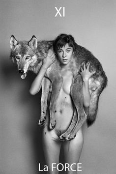 Black and White Photography Portrait by Ryan McGinley. This is seriously in my top ten favorite photos of all time. Der Steppenwolf, Potnia Theron, Spencer Tunick, Wolf Girl, Foto Art, Princess Mononoke, Red Riding Hood, Spirit Animal, White Photography