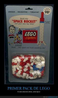 PRIMER PACK DE LEGO - Si esto estuviera ahora