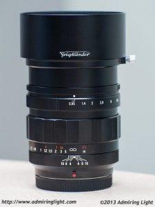 Review: Voigtländer Nokton 42.5mm f/0.95 [by Jordan Steele on Admiring Light]