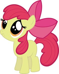 Apple Bloom begging