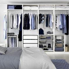 Till PAX garderobsystem