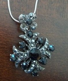 20s Circa Antique Faceted Black Gemstone by SuzyQsVintageShop, $15.00
