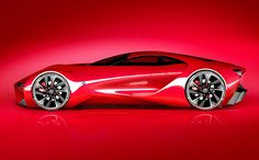 For all its aggressiveness, the Alfa Romeo Disco Volante concept by Alex Imnadze also has a delicate femininity to it. Makes perfect sense considering its flowing