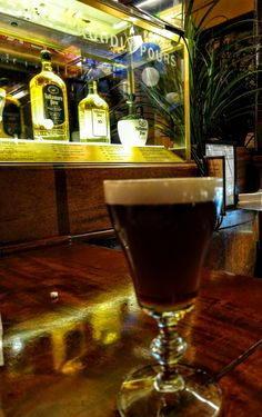 Finally, finally made my way to this tiny cornet of Marina/Fisherman's Wharf for my first official Irish Coffee---coffee, cream, and Tullamore DEW---at the drink's birthplace.