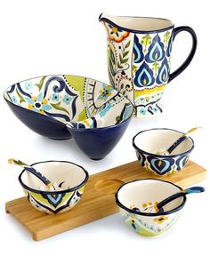 Espana Serveware, Bocca Geo Collection - Serveware - Dining & Entertaining - Macys