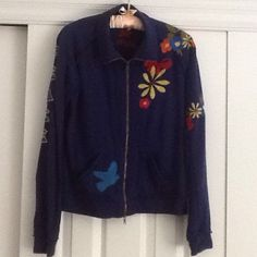 ***Host Pick*** J W Los Angeles Embroidered Jacket