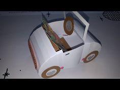 Hochzeitsauto Geldgeschenk - YouTube