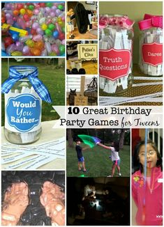 If you plan on hosting ten graders at your home on a Saturday afternoon- you need a game plan on how you are going to entertain your party guests! So here are a few ideas for Birthday Party Games for Tweens! Hotel Birthday Parties, Birthday Party At Home, Birthday Party Games For Kids, Hotel Party, Happy Birthday, Birthday Party Themes, Birthday Ideas, 10th Birthday, Spa Party