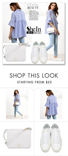 """""""contest"""" by lena123-1 ❤ liked on Polyvore featuring Furla and Yves Saint Laurent"""