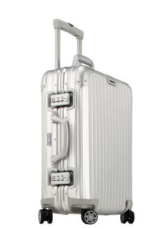 This minimalist-style Rimowa holdall is practically industrial strength. Even if it gets beaten up on the baggage carousel, it will keep all of your belongings in order. ($980)