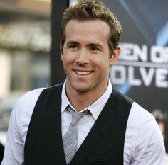 "Ryan Reynolds in ""The Proposal""... self-deprecating, funny, and ridiculously hot."