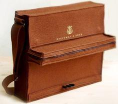 Brown Felt Piano Bag | Sumally