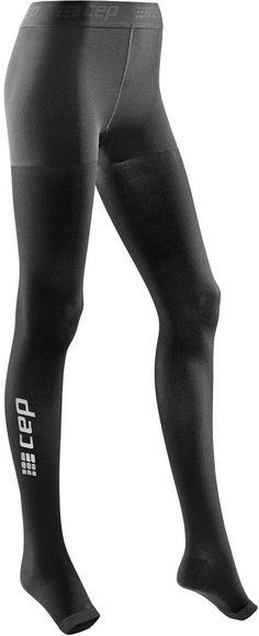 786aeef3672c0e CEP Women's Recovery+ Pro Tights. Improve CirculationLarge BlackSoftballThighsToo  ...