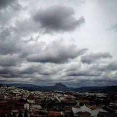 Fin de semana de frío y lluvia en #Antequera #Málaga #Andalucía