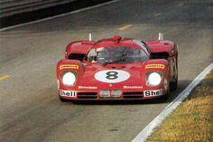 1970 La Ferrari 512S de Merzario / Regazzoni.