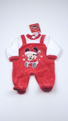 Tutina neonato Disney originale aperta sotto e dietro realizzata in  ciniglia di cotone fb1d7f88da3e