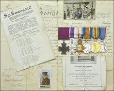 Spring Offensive, Rifles, Leeds, Crosses, German, Auction, Victoria, War, Group