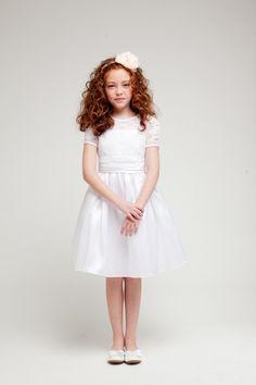 Celestine Girls Dress - PuddlesCollection.com