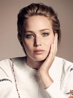 Jennifer Lawrence for Be Dior 2015