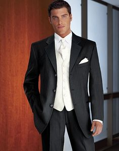 1000  images about Wedding suit on Pinterest | Wedding, Grey and